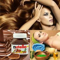 Окрашивание волос при помощи Nutella: миф или реальность?